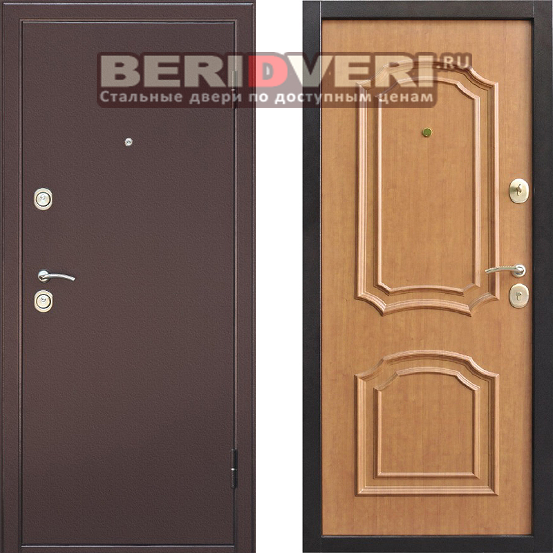 Металлическая дверь Интерио