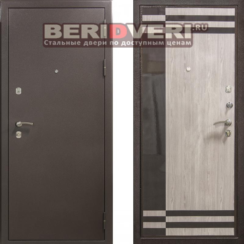 Металлическая дверь Мария 2 Капучино