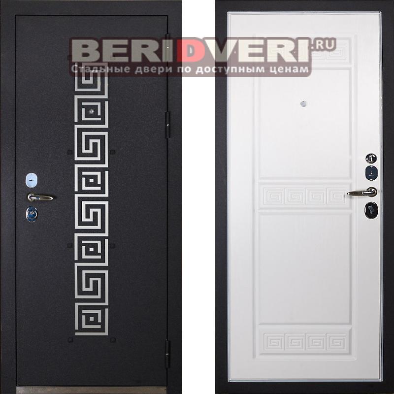 входная дверь с белой внутренней москва