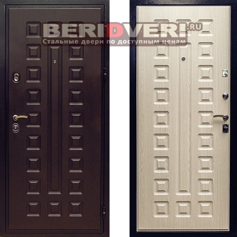 Металлическая дверь Art-Lock-4G Беленый дуб