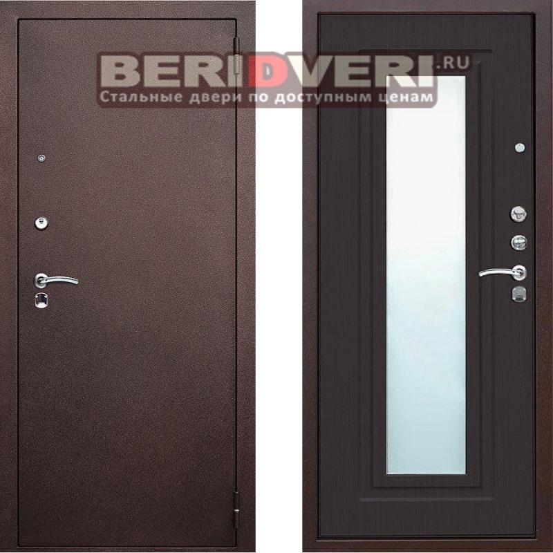 Металлическая дверь Геркон Царское зеркало Венге