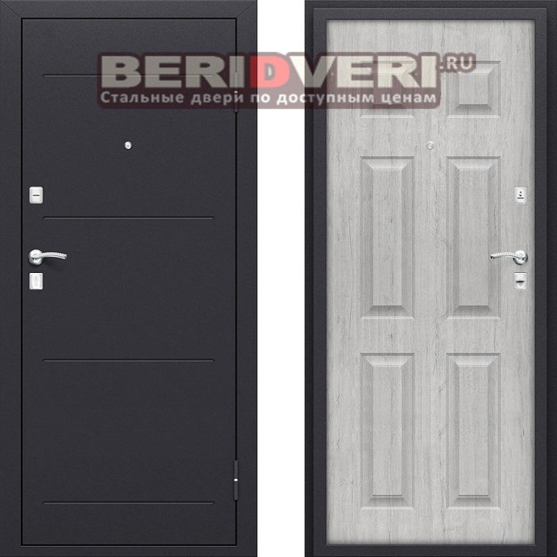 Металлическая дверь Bravo Оптим Вуд-2