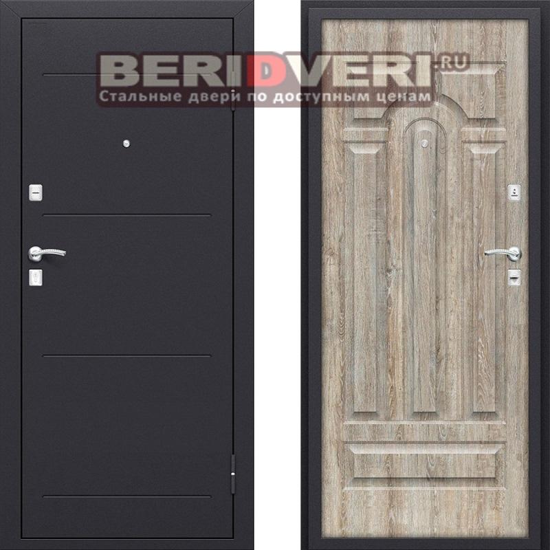 Металлическая дверь Bravo Оптим Вуд-1