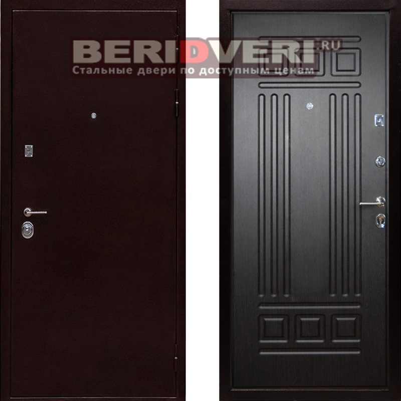двери входные металлические с теплошумоизоляцией