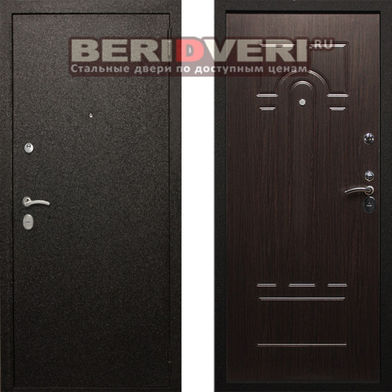 Металлическая дверь Art-Lock-1А Венге