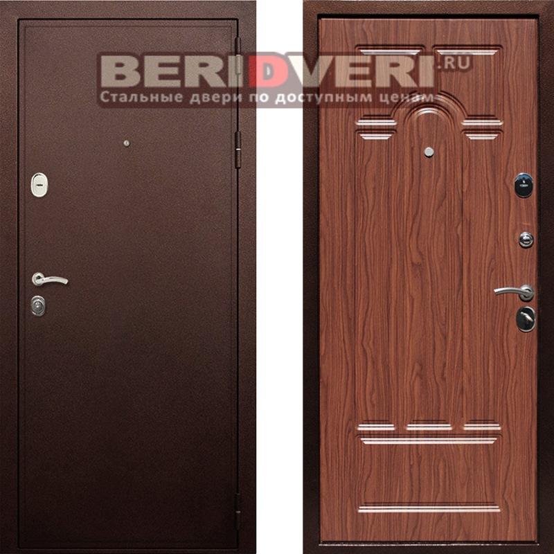 Металлическая дверь Art-Lock-6A Береза мореная