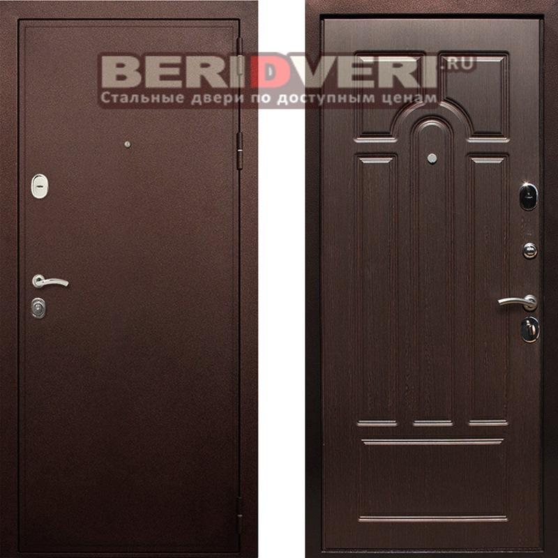 Металлическая дверь Art-Lock-6A Венге