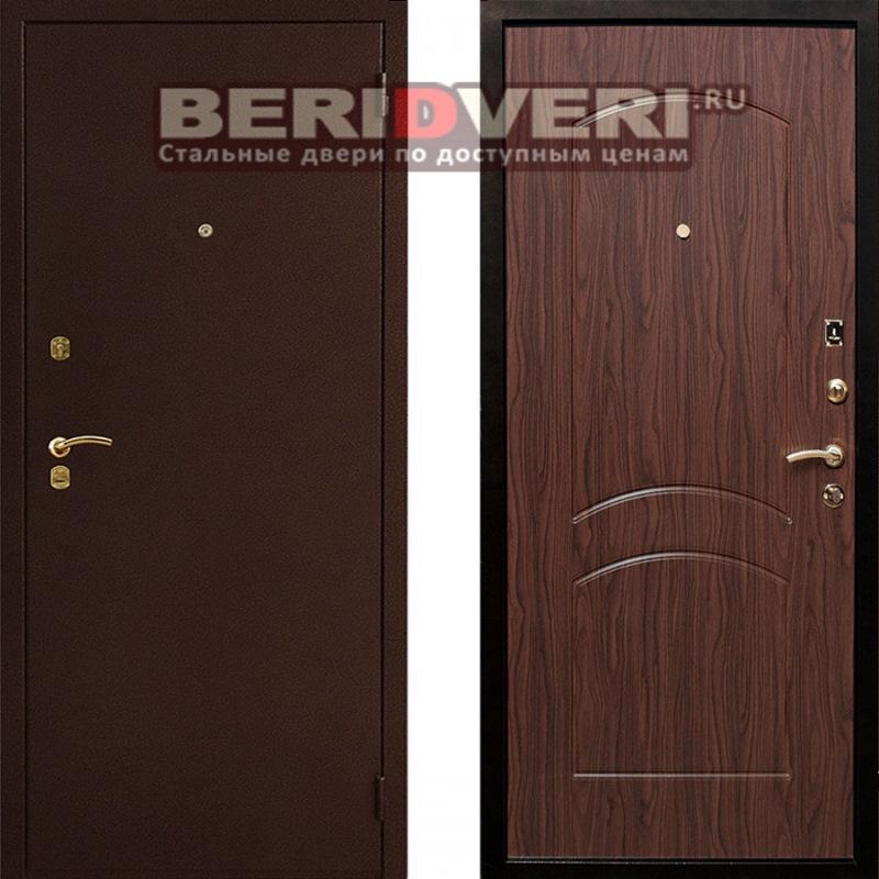 Металлическая дверь Art-Lock-1А Орех