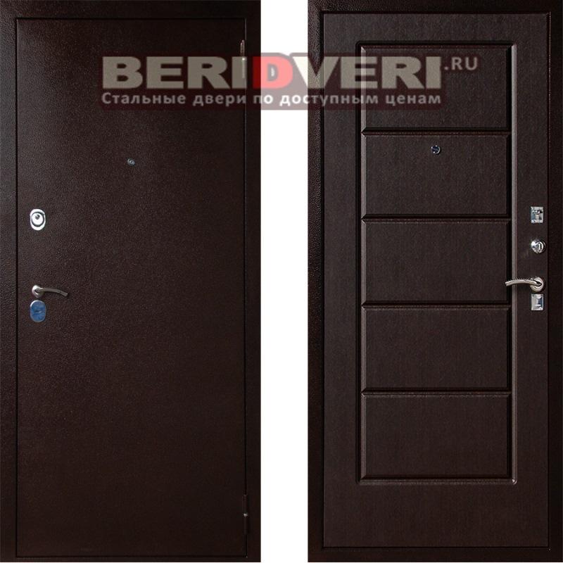 Металлическая дверь Art-Lock-3А Венге