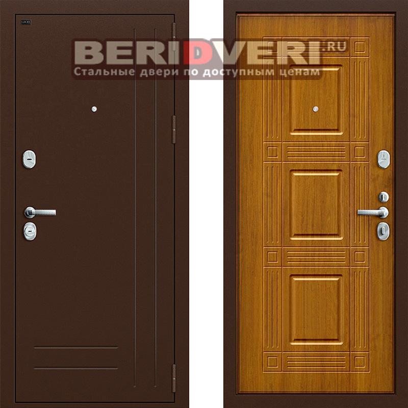 Металлическая дверь Groff P2-202 Золотой дуб
