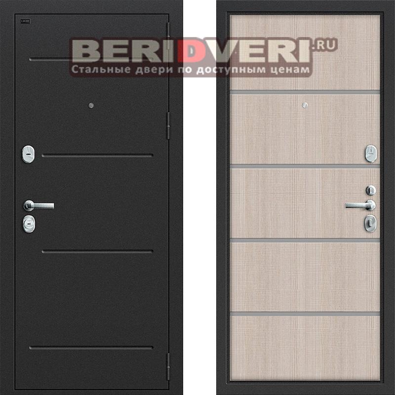 Металлическая дверь Groff T2-204 Капучино