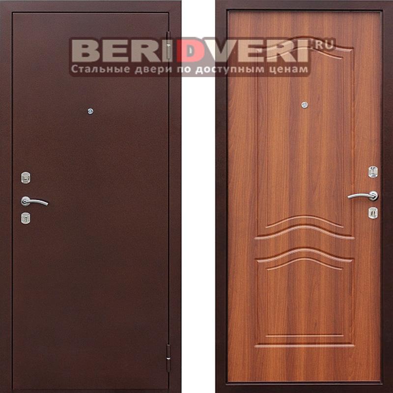 Металлическая дверь Геркон 1512 Дуб Рустикал