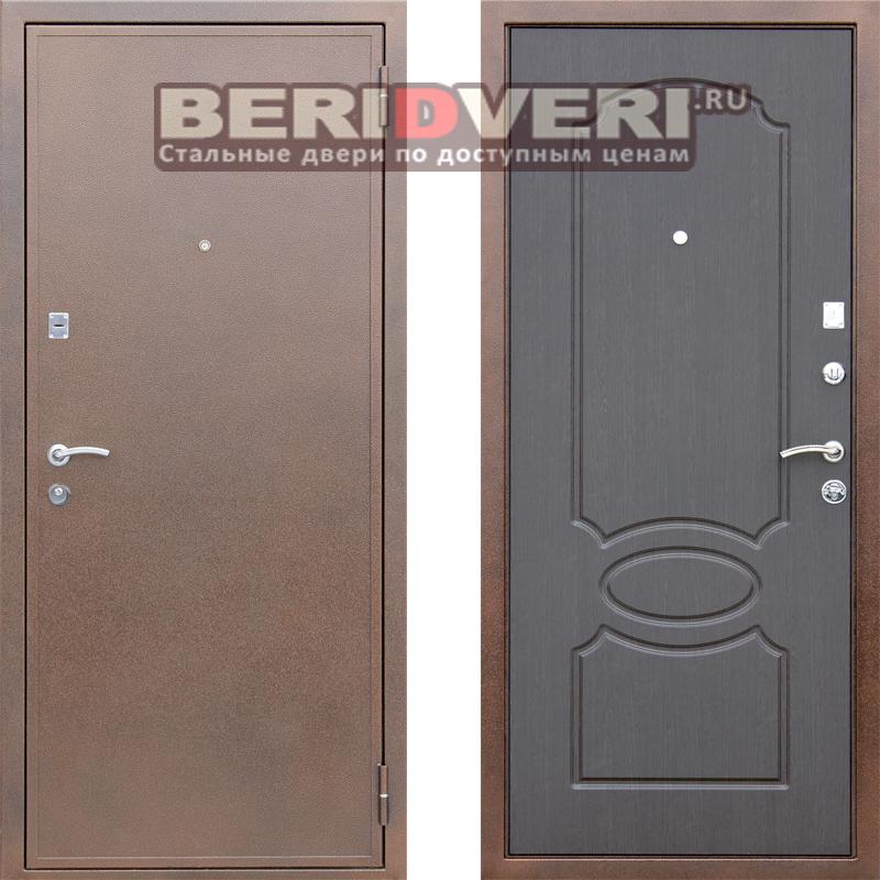 Металлическая дверь АСД Грация Венге