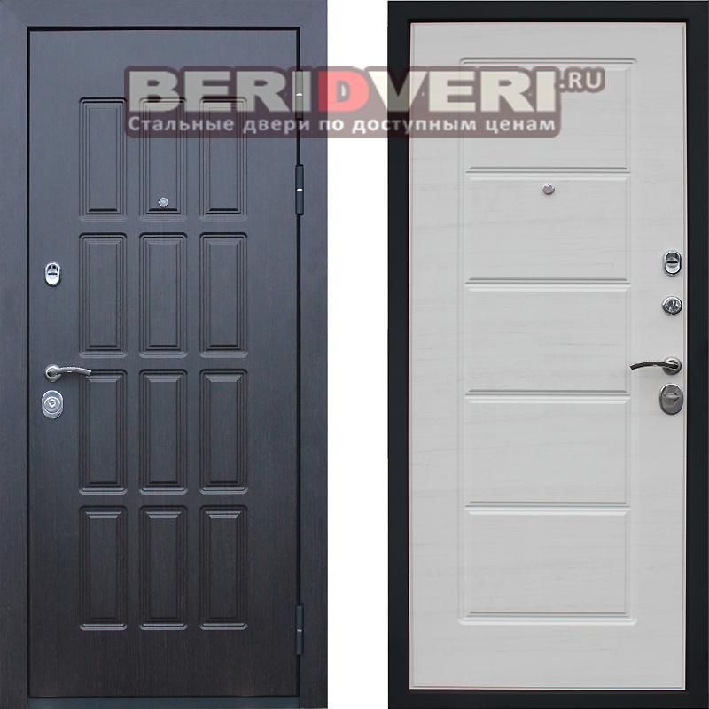 Металлическая дверь АСД Фортуна Беленый дуб