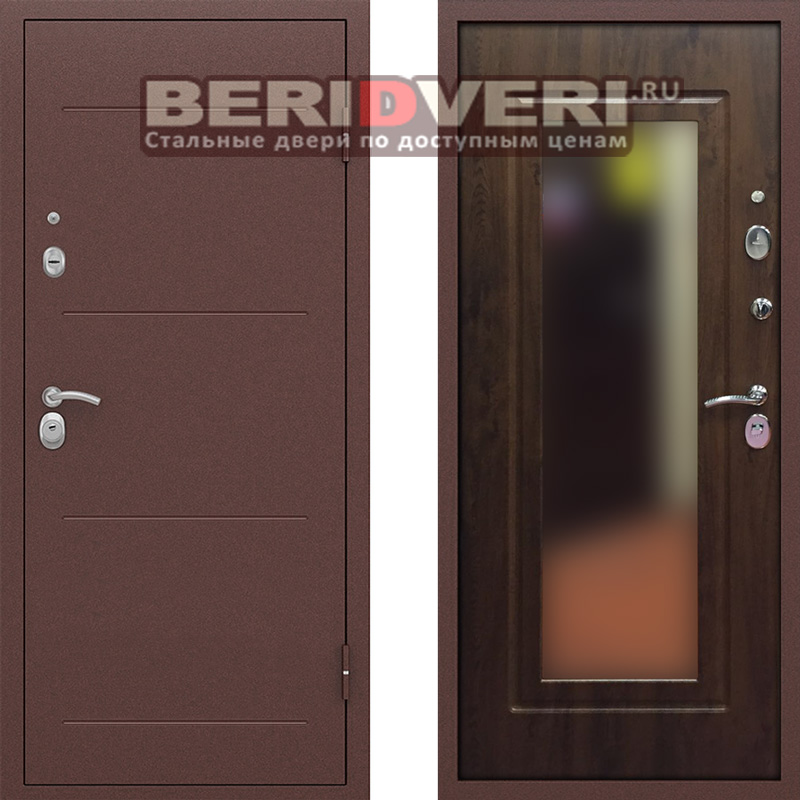 Металлическая дверь Bravo Оптим Глейс