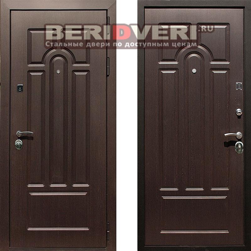 Металлическая дверь REX Эврика Венге