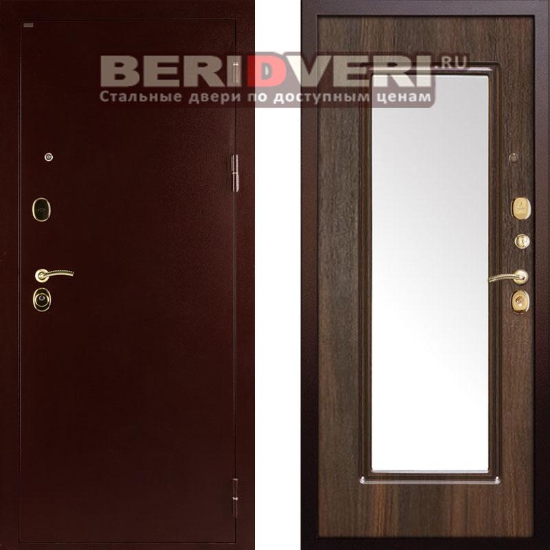 дверь металлическая с зеркалом шумоизоляция