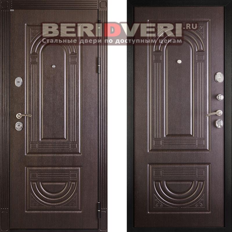Металлическая дверь Дива МД-36 Венге