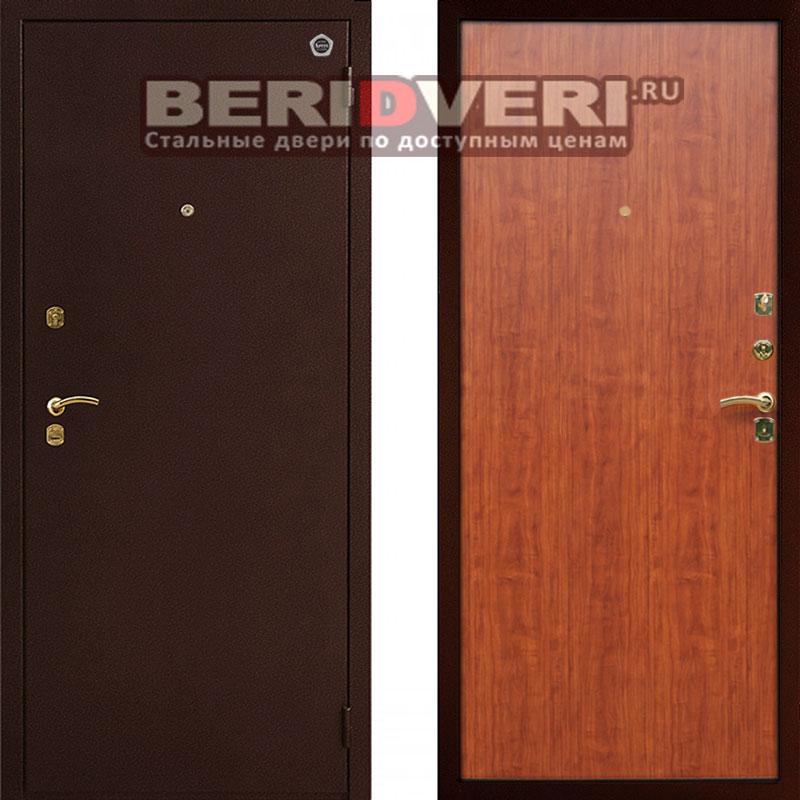хорошие тёплые металлические двери