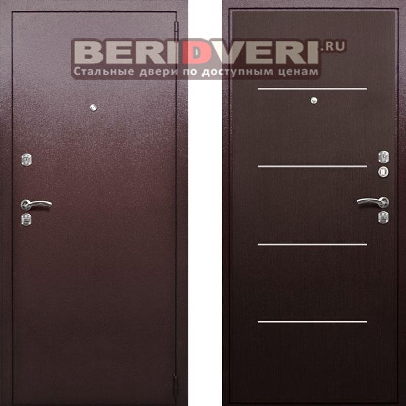 металлическая усиленная дверь