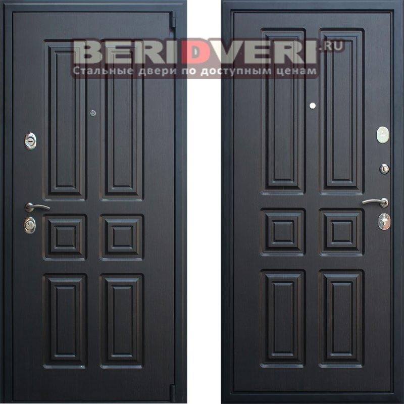 Металлическая дверь АСД Атлант Венге