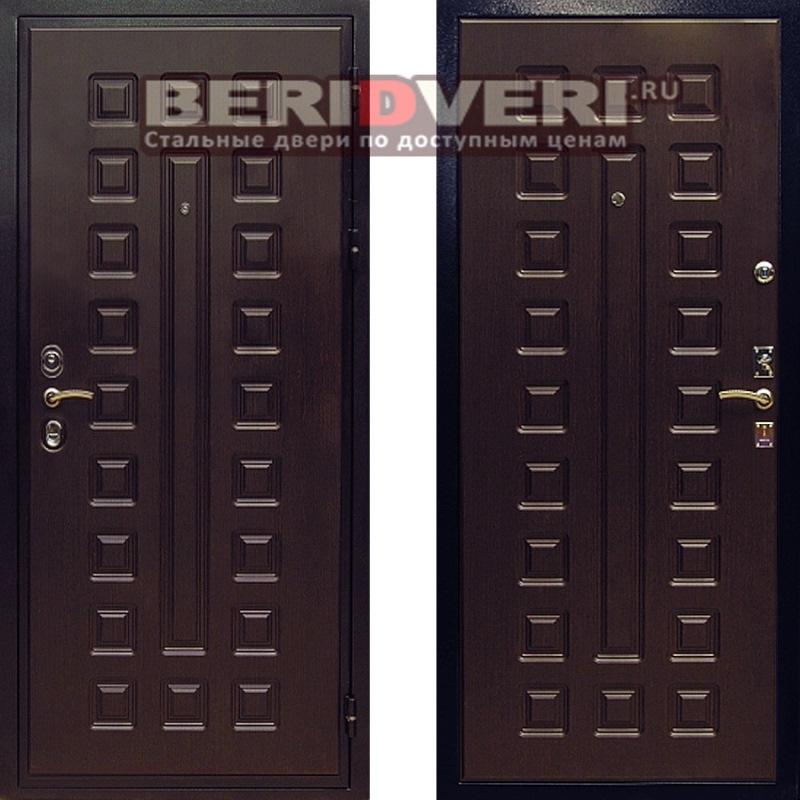 Металлическая дверь REX Гладиатор CISA Венге