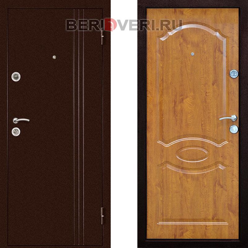 Металлическая дверь ДК Экстра Орех
