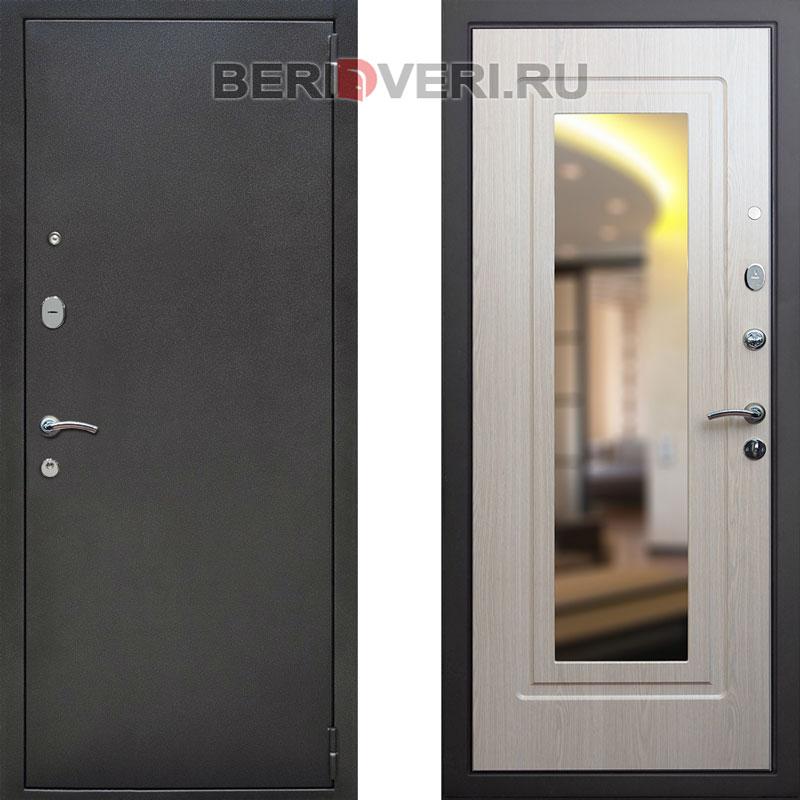 дверь металлическая стандарт 2 зеркало
