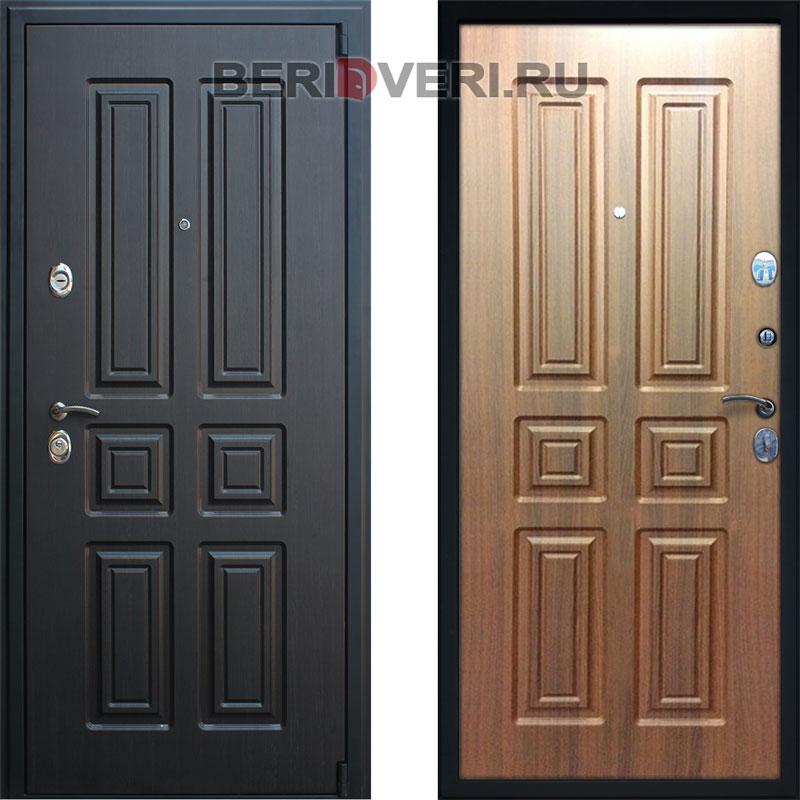 Металлическая дверь АСД Атлант Орех Бренди
