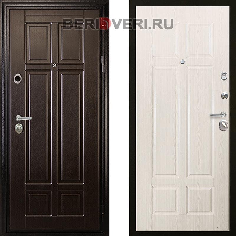 Металлическая дверь Дива МД-07 Беленый дуб