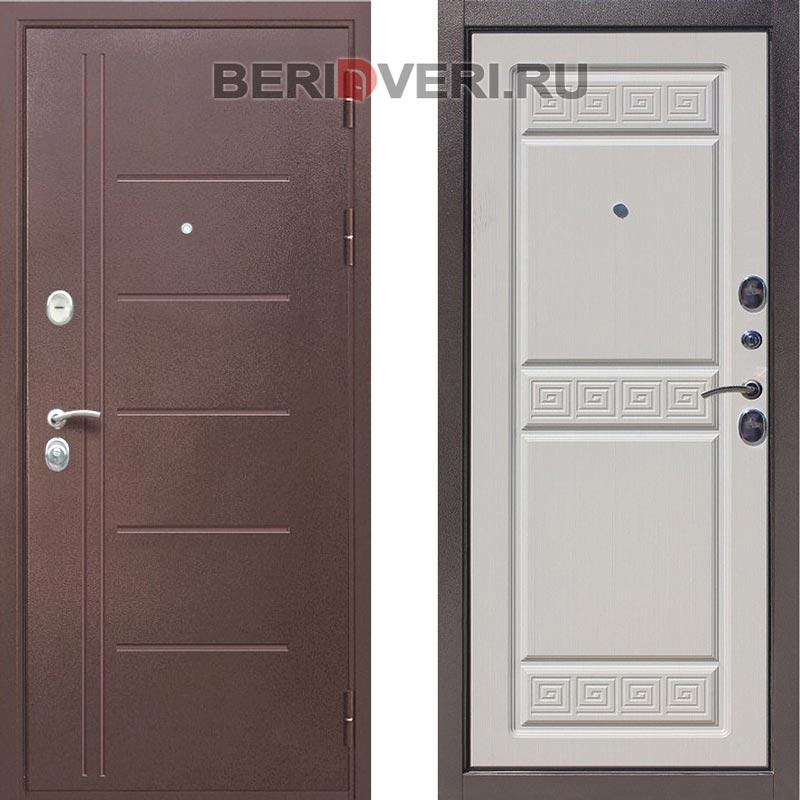 Металлическая дверь Art-Lock Премиум A Белый ясень
