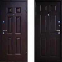 Металлическая дверь Промет SMD-2 Orion Венге штамп