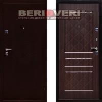 Металлическая дверь СТОП ЭКО Венге