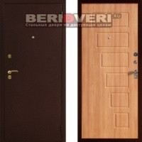 Металлическая дверь Art-Lock-2А Орех светлый
