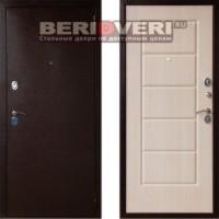 Металлическая дверь Art-Lock-3А Беленый дуб