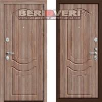 Металлическая дверь Groff P3-300 Темный орех