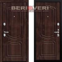 Металлическая дверь Groff P3-301 Темная вишня
