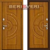 Металлическая дверь Groff P3-302 Золотой дуб