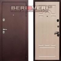 Металлическая дверь REX 5A Антик Беленый дуб
