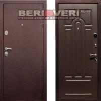 Металлическая дверь REX 5A Антик Венге