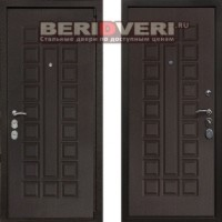 Металлическая дверь REX 4A Венге