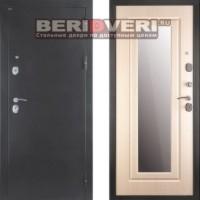 Металлическая дверь Дива МД-03C с зеркалом