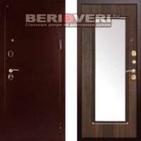 Металлическая дверь Дива МД-09 с зеркалом