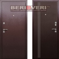 Металлическая дверь Берлога СК-1В