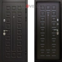Металлическая дверь Снедо Сенатор 2K Винорит Венге
