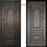 Металлическая дверь ДК Флоренция Венге (Трёхконтурная)