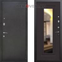 Металлическая дверь REX 2А Зеркало Венге