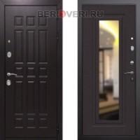 Металлическая дверь REX 8 Зеркало Венге