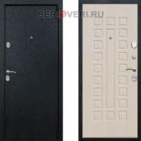Металлическая дверь REX 3 Беленый дуб