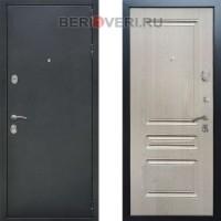 Металлическая дверь REX 5А ФЛ-243 Беленый дуб